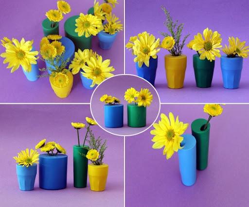 Copos-Vidros-Encapados-Bexigas-Flores-Vaso-DIY