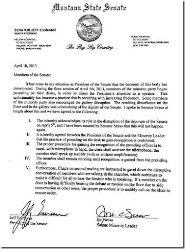 Essman Letter