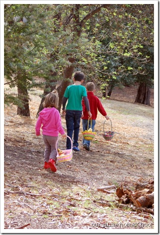 Easter Egg Hunt ~ Our Aussie Homeschool