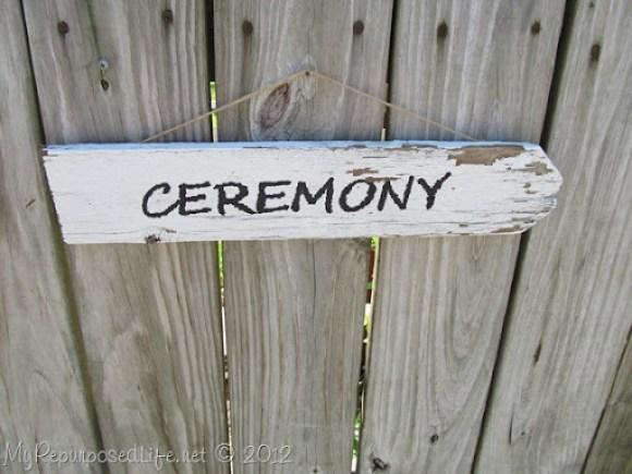 Picket Fence Wedding Sign (9)