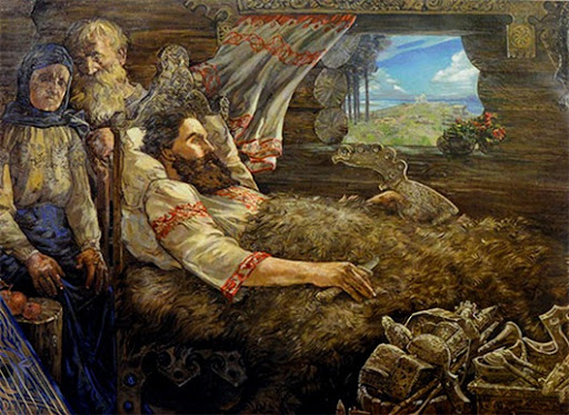 Илья Муромец в немощи