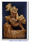 驅鬼逐邪之神-兩尺二武功鍾馗-驅魔大師-鬼王鍾馗(兩尺頂級樟木_原木色)