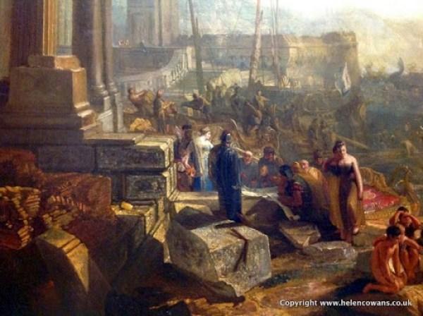 Turner Dido building Carthage 1815