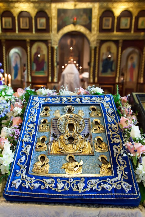 Visit of The Kursk-Root Wonderworking Icon of The Most Holy