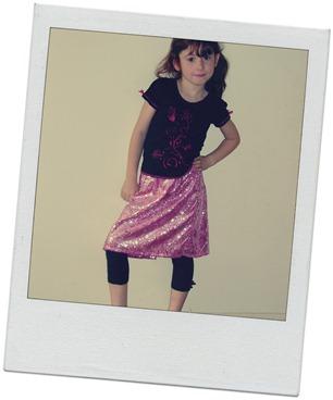 jorja pink skirt