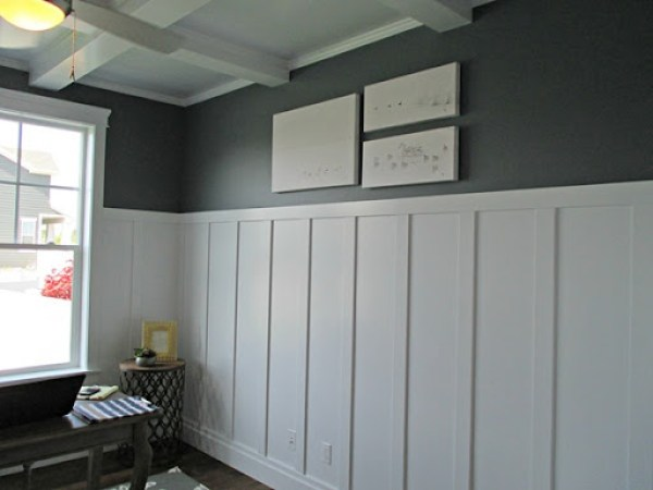 Foggy Day - gray paint color