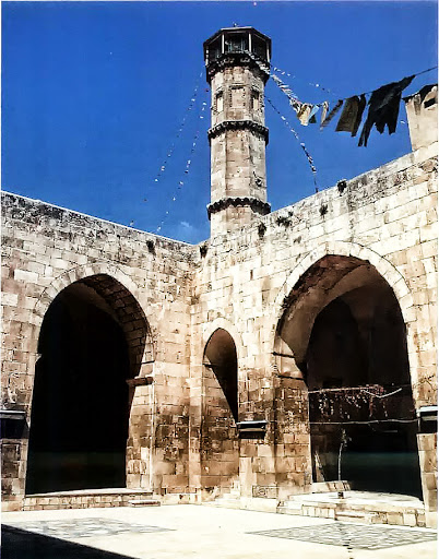 Altinbugha Mosque in Aleppo, 1318-1323.