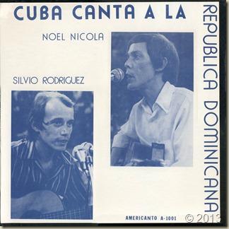 Silvio-Noel 1974 - Cuba canta a la Rep. D. - frontal