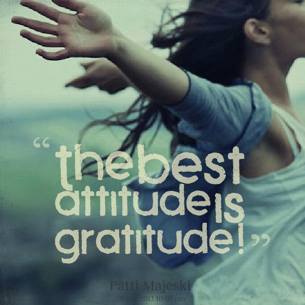 "Image result for A ""gratitude"" attitude..."