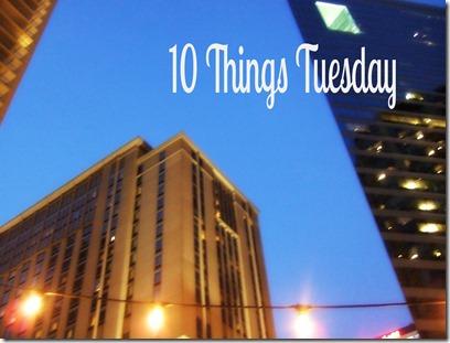 Rooftop 10 things