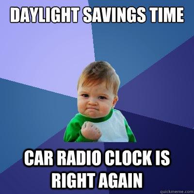 Funny Daylight Saving Time Memes