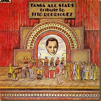 Tribute Tito Rodriguez-Fania All Stars-frente