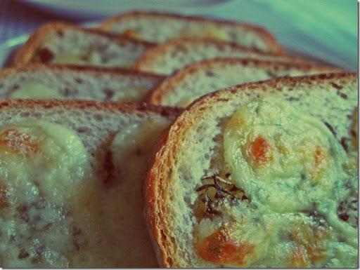 Thyme & Cheese Bruschetti