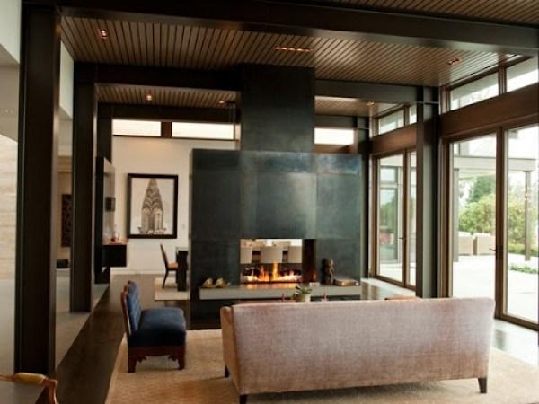 Diseño-salon-con-chimenea
