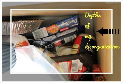 kitchen pantry disorganization