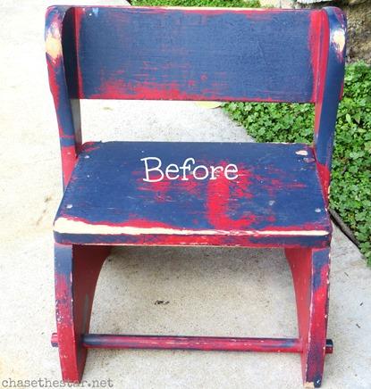 thrift store stool