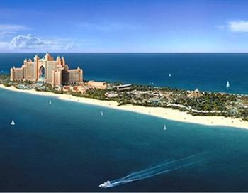 Vị trí của Atlantis The Palm-Dubai