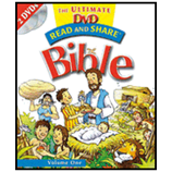 Read and Share: The Ultimate DVD Bible Storybook - Volume 1