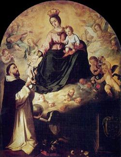 Madonna_del_Rosario_e_S_Domenico_(Bartolome_Esteban_Murillo_1638_Palacio_Arzobispal_Siviglia)