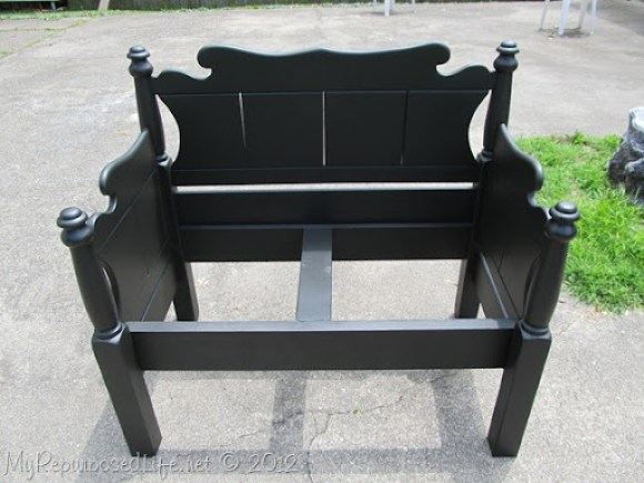Twin bed-bench upholstered (25)