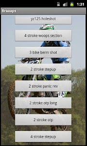 Braaaps (Motocross Sounds) screenshot 1