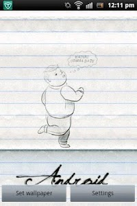 Walking Pencil Sketch screenshot 0