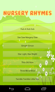 Nursery Rhyme Time Songs screenshot 1