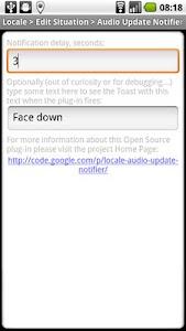 Locale Audio Update Notifier screenshot 0