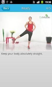 Ladies' Leg Workout FREE screenshot 0