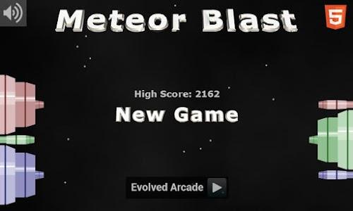 Meteor Blast screenshot 0