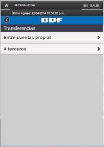 iBDF Móvil screenshot 5