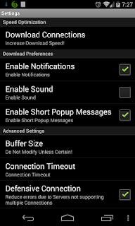 Turbo Downloader screenshot 01