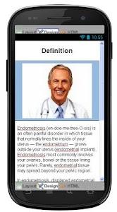 Endometriosis Information screenshot 0