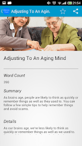 Ultimate Elderly Care Guide screenshot 1
