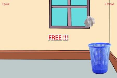 A Paper Ball Throw Into Bin screenshot 2