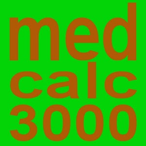 MedCalc 3000 Nutrition