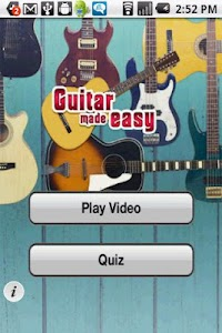 Guitar Made Easy screenshot 1