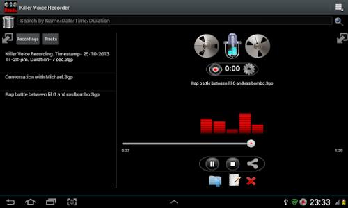 Killer Voice Recorder Pro screenshot 23