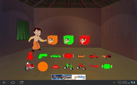 Toy Game with Chhota Bheem screenshot 2