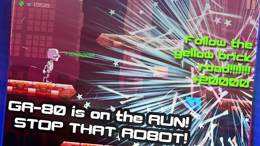 Robot Runner: Ballad of GR-80 screenshot 1