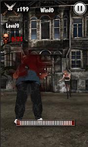 Knife King3-Zombie War 3D screenshot 4