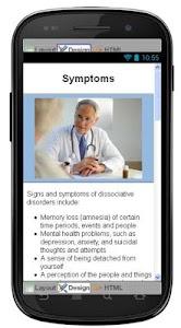 Dissociative Disorders Disease screenshot 2