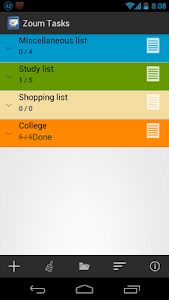 Zoum Tasks screenshot 4