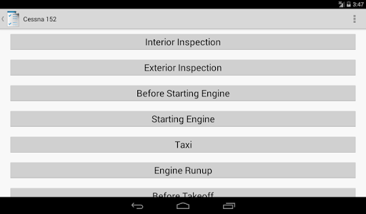 Aviation Checklists screenshot 12