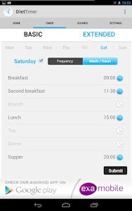Diet Timer Fast Way XXL ->Slim screenshot 19