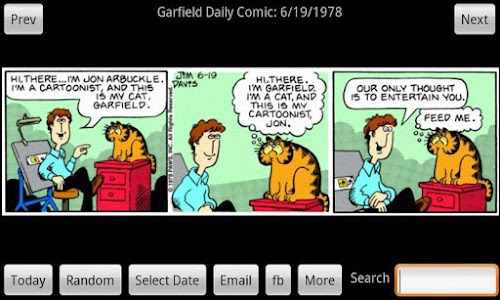 Garfield Daily screenshot 0