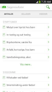 Patienthåndbogen screenshot 3