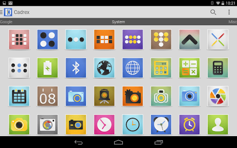 Cadrex - Icon Pack screenshot 10