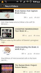 NeuroVideos screenshot 1