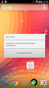 The Snow Maker - Let it snow screenshot 0